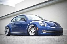 Nice new new beetle with the blues.