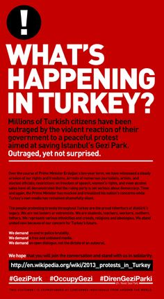 What's happening in Turkey  #turkey #occupygezi #occupyturkey