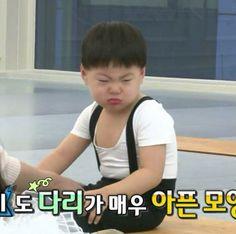 Manse get mad at Daehan. Cute Kids, Cute Babies, Superman Kids, Song Triplets, Meme Faces, Kawaii, Mood, Songs, Live