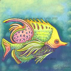 STORY: The Funky Fish Series was started in 2009 and is a series of whimiscal, Imagined, Unique and Funky fish illustrations by Canadian artist