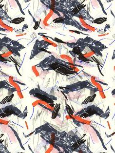 Pattern by Cam Floyd, via Behance