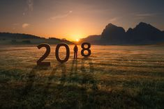 Cute New Year 2018 Background Photos