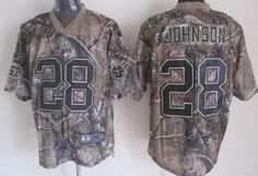 Nike Tennessee Titans #28 Chris Johnson Realtree Camo Elite Jersey