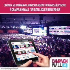 #Etkinlik ve kampanyalarınızın nabzını tutmayı sağlayacak #CampaignWall 'un özellikleri nelerdir?  #Hashtag ile #Facebook, #Twitter ve #Instagram üzerinden kampanyanızı yönetmek için ilk ve tek dijital araç! www.campaignwall.com #CampaignWall #hashtag #Kampanya #Etkinlik #Konferans #Instore #Magaza #AVM #Mobil #Dijital #SosyalMedya #Ödül #Turkcell #TeknolojiZirvesi