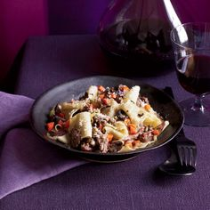 Pappardelle with Duck Ragù // More Terrific Pasta: http://www.foodandwine.com/slideshows/one-dish-pastas #foodandwine