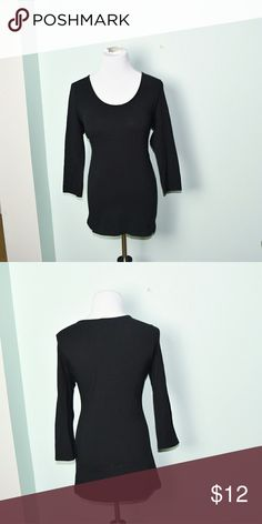 Cynthia Rowley Black Stretch Top In excellent condition! Super soft, flowy, and comfortable! Buy 3 items and get 1 free plus 15% off your purchase total Tops