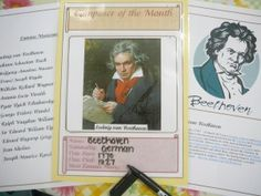 Free downloadable musical composer study from Practical Pages