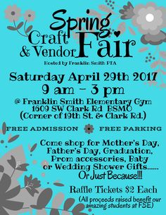 Support local businesses, Crafters, Artists & your local PTA!  FREE family event in Blue Springs MO