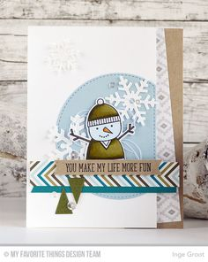 Cooler With You Card Kit - Inge Groot  #mftstamps