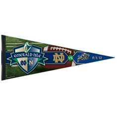 Notre Dame Fighting Irish vs. Navy Emerald Isle Classic 12x30 Premium Pennant #Irish #ND #FightingIrish http://www.fansedge.com/Notre-Dame-Fighting-Irish-vs-Navy-Emerald-Isle-Classic-12x30-Premium-Pennant-_442585079_PD.html?social=pinterest_pfid23-57685