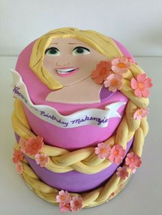 From the movie Tangled Cake!!