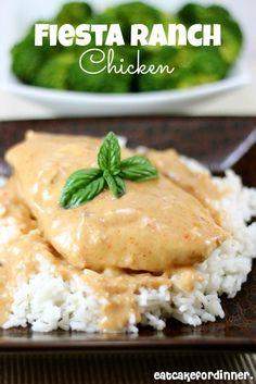Eat Cake For Dinner: Fiesta Ranch Chicken