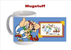 Personalised Picture Mug Custom Made with Astrix by Mugstuff, £5.00