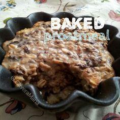 Baked proatmeal