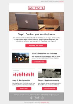7 Free Responsive Email Templates | Design | Pinterest ...
