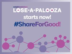 Ready, set, #ShareForGood! Lose-A-Palooza is officially underway and you can help us by sharing, liking or repinning  any of our posts TODAY. Spread the word and we can help fight hunger together!