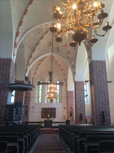 Sisäkuva Mynämäen kirkosta