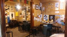 Rice wine pub in a back alley in downtown of Seoul