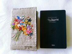 프랑스자수 성경커버 : 네이버 블로그 Embroidery Applique, Blog, Tela, Day Planners, Needlepoint, Blogging