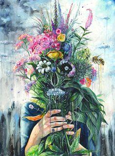 The Last Flowers by Tanya Shatseva | Bohemian Bliss ▽△