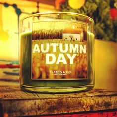 The perfect Candle for a fall day.