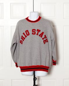 A personal favorite from my Etsy shop https://www.etsy.com/listing/477555537/vintage-90s-ohio-state-sweatshirt-xl
