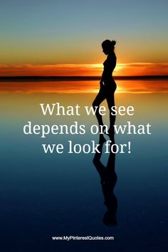 What we see depends on what we look for! What are you looking for?