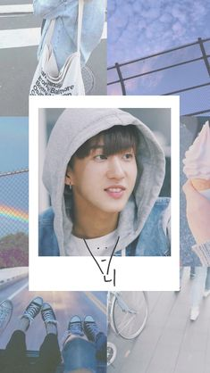 Changbin Stray Kids Lockscreen Moodboard