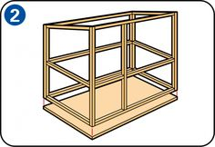 Hoe bouw je zelf een konijnenhok? Er zijn veel zaken om rekening mee te houden, hier vind je alle klusinformatie voor het maken van een konijnenhok.