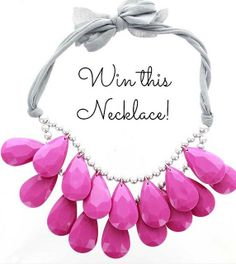 Favorite Fashion Friday: Radiant Orchid Necklace Giveaway!