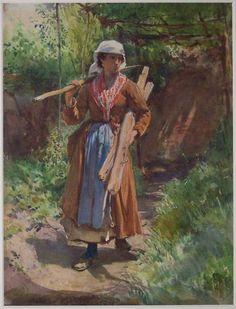 Oskar Kokoschka, Zigeunermaedchen./  Antiques Dealer to Pay $1.1 Million Over Fake Renoir   artnet News