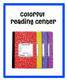 Add color to your reading center plus FREE printables.