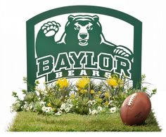 #Baylor Metal Art for Home and Garden