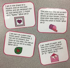 Valentines Day Joke  Riddle Bookmarks  Valentines Day