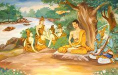 25 Citações de Buda para mudar a sua vida! - Ascetic_Bodhisatta_Gotama_with_the_Group_of_Five