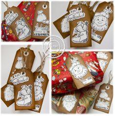 6410/0083 Noor! Design Clear Stamps Sinterklaas