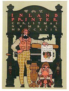 Inland Printer Christmas vintage cover 1899