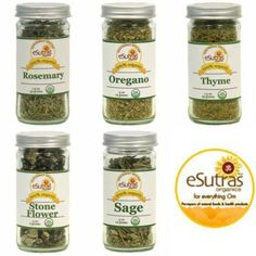 Try eSutras Organic Seasonings!  Great for summer barbecues!  #esutras_organics #seasonings #summer #bbq #herbs  Available at www.esutras.com