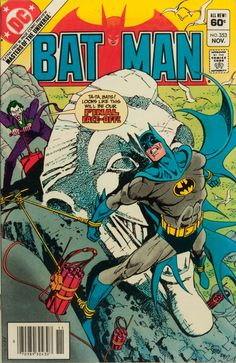 Batman November cover by Jose Luis Garcia-Lopez Batman Comic Books, Batman Comics, Comic Books Art, Comic Book Artists, Comic Book Characters, Comic Character, Caricature, Joker Face, I Am Batman