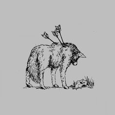 and he knew only bitterness and sorrow Animal Drawings, Art Drawings, Arte Dark Souls, Arte Obscura, Wolf Tattoos, Aesthetic Art, Dark Art, Art Sketches, Art Inspo