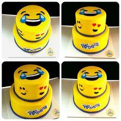 Torta emoji   #dulcenina #iquique #iqq #tortasiquique #dulcesiquique #cupcakesiquique #tortaschile #tortasdecoradas #cupcakesiqq #tortasiqq #emojicake #emoji Smileys, Emoji Theme Party, 13 Birthday Cake, Birthday Stuff, Mugcake Recipe, Emoji Cake, Spiced Coffee, Salty Cake, Fiesta Party