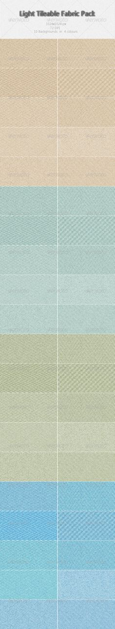 Light Tileable Fabric Pack — Photoshop PSD #linen #tile • Available here → https://graphicriver.net/item/light-tileable-fabric-pack/2901738?ref=pxcr
