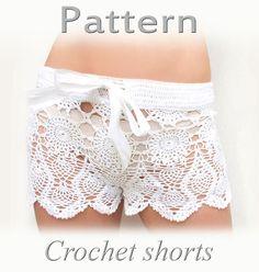 Pattern for crochet shorts #pattern #crochet #shorts