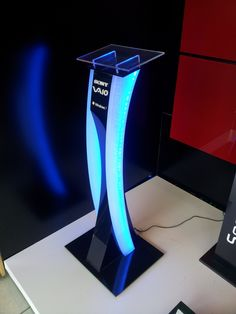 DISPLAY STAND by GURAY HALICIOGLU at Coroflot.com #audiovisual #electrical #eventprofs