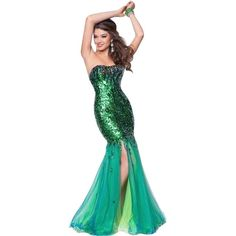 Pre-owned Blush Electric Green Auth Prom 9541 Size 8 Dress ($165) ❤ liked on Polyvore featuring dresses, electric green, white dress, prom dresses, preowned dresses, white prom dresses and cocktail prom dress