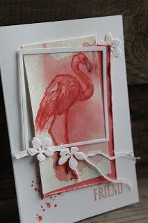 Stamp Garden: Fabulous Flamingo