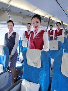【China】 China Southern Airlines cabin crew / 中国南方航空 客室乗務員 【中国】 China Southern Airlines, Airline Cabin Crew, China China, Flight Attendant, Lady, Pictures, Beautiful, Photos, Grimm
