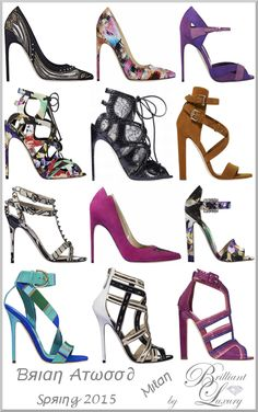 Brilliant Luxury ♦Brian Atwood Spring 2015 Milan (post 22) More