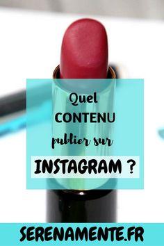 Je vous donne mes conseils pour savoir quel contenu publier sur Instagram ! N'oubliez pas de créer du contenu en fonction de votre niche ! #instagram #feed #reseauxsociaux #postinstagram Booster Instagram, Instagram Tips, Community Manager, Digital Marketing, About Me Blog, Lipstick, Social Media, Artisan, Internet