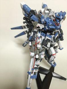 GUNDAM GUY: MG 1/100 Hi Nu Gundam Ver. Ka T.F.C. - Customized Build